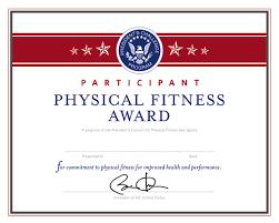 Presidential Fitness Test